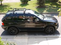 X5 E53 with Roof Cargo box - Xoutpost.com