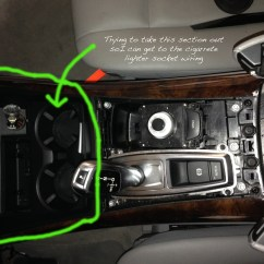 10 Switch Box Wiring Diagram Kenwood Kdc 2008 E70 X5 3.0 Center Console/cigarette Lighter Socket - Xoutpost.com