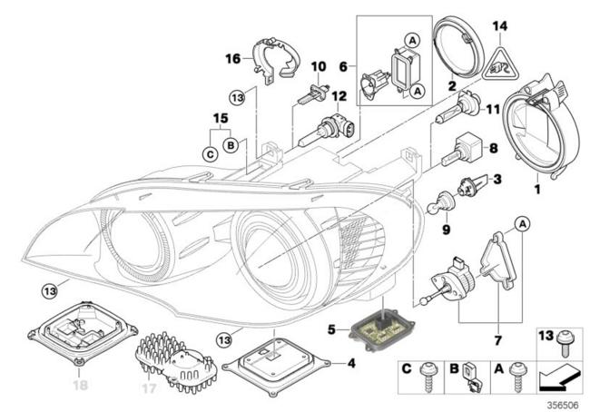 Bmw Xenon Headlight Problems.BMW X3 F25 Genuine Xenon