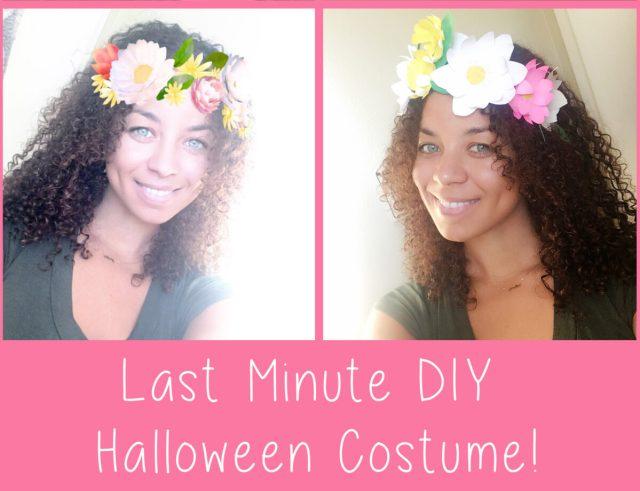 Easy Last Minute Halloween Costume DIY! Instagram Gal diy
