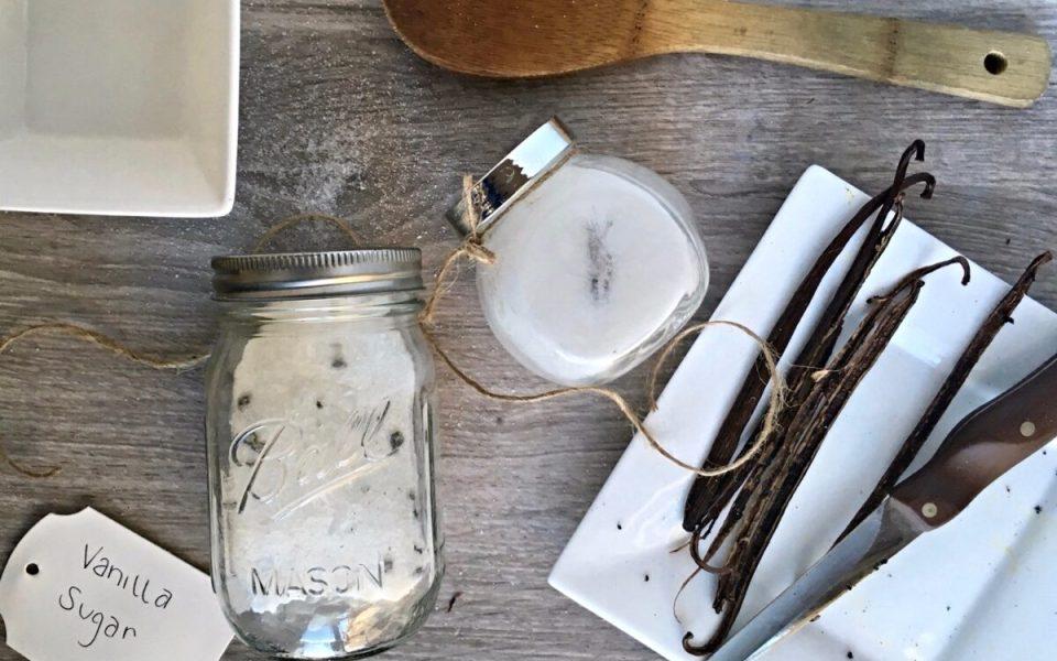 Vanilla Infused Sugar Recipe