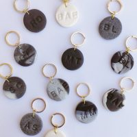 DIY: Personalized Clay Keychains
