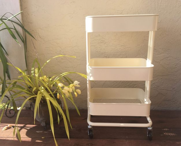 DIY: Rose Gold Ikea Cart diy