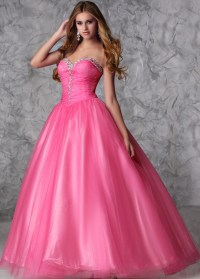 Neon Poofy Prom Dresses - Discount Evening Dresses