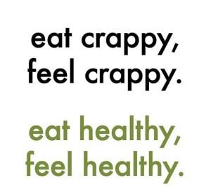 eat crappy