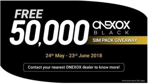 ONEXOX BLACK | PERCUMA 50,000 PLAN B10 BLACK ONEXOX | PAKEJ BLACK ONEXOX