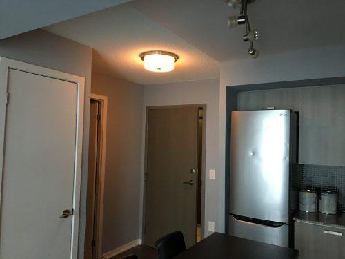 Condo painting - hall way