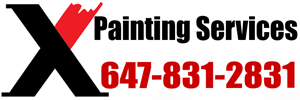 X Painting services Logo