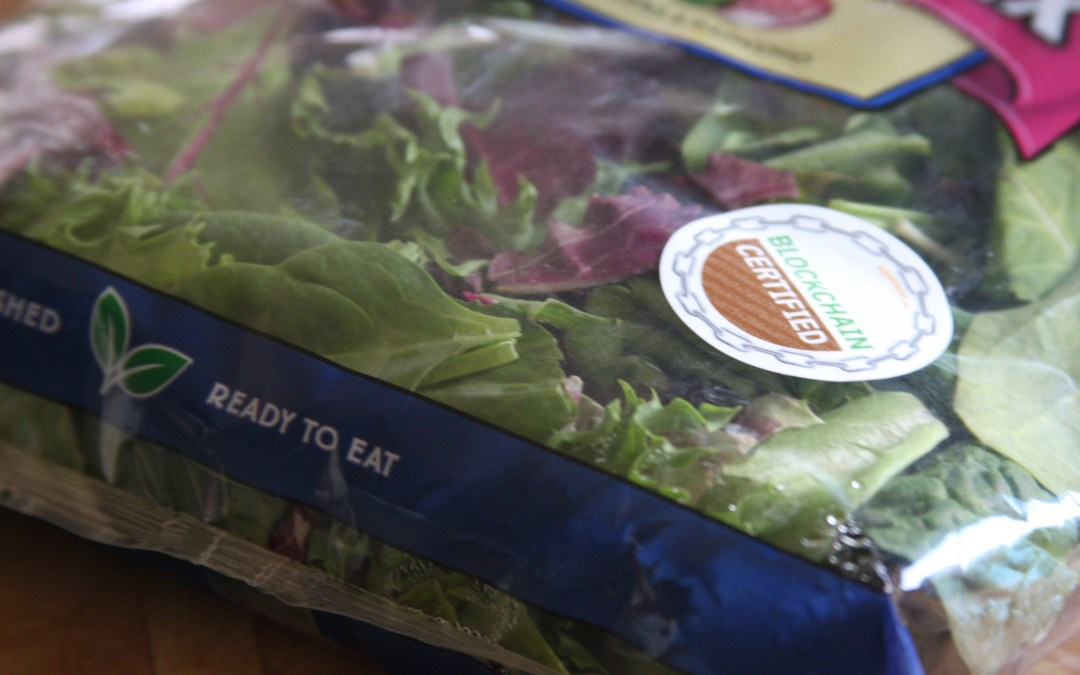 Fresh Express salad of the future: blockchain-certified.