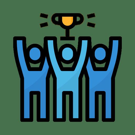 icon-of-team-celebrating