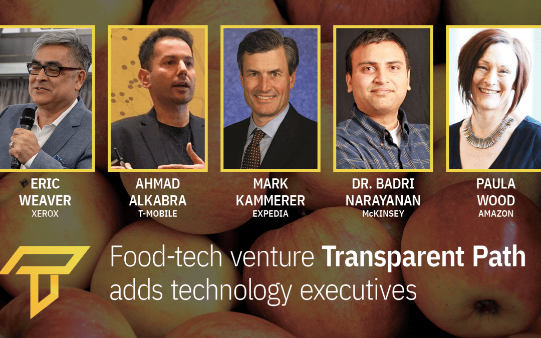 Food-tech venture Transparent Path adds veteran technology execs