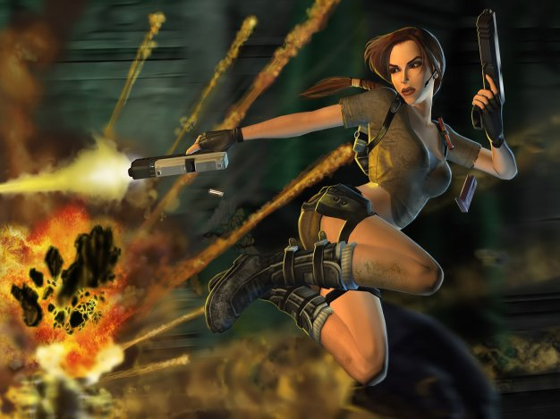 Early Lara Croft