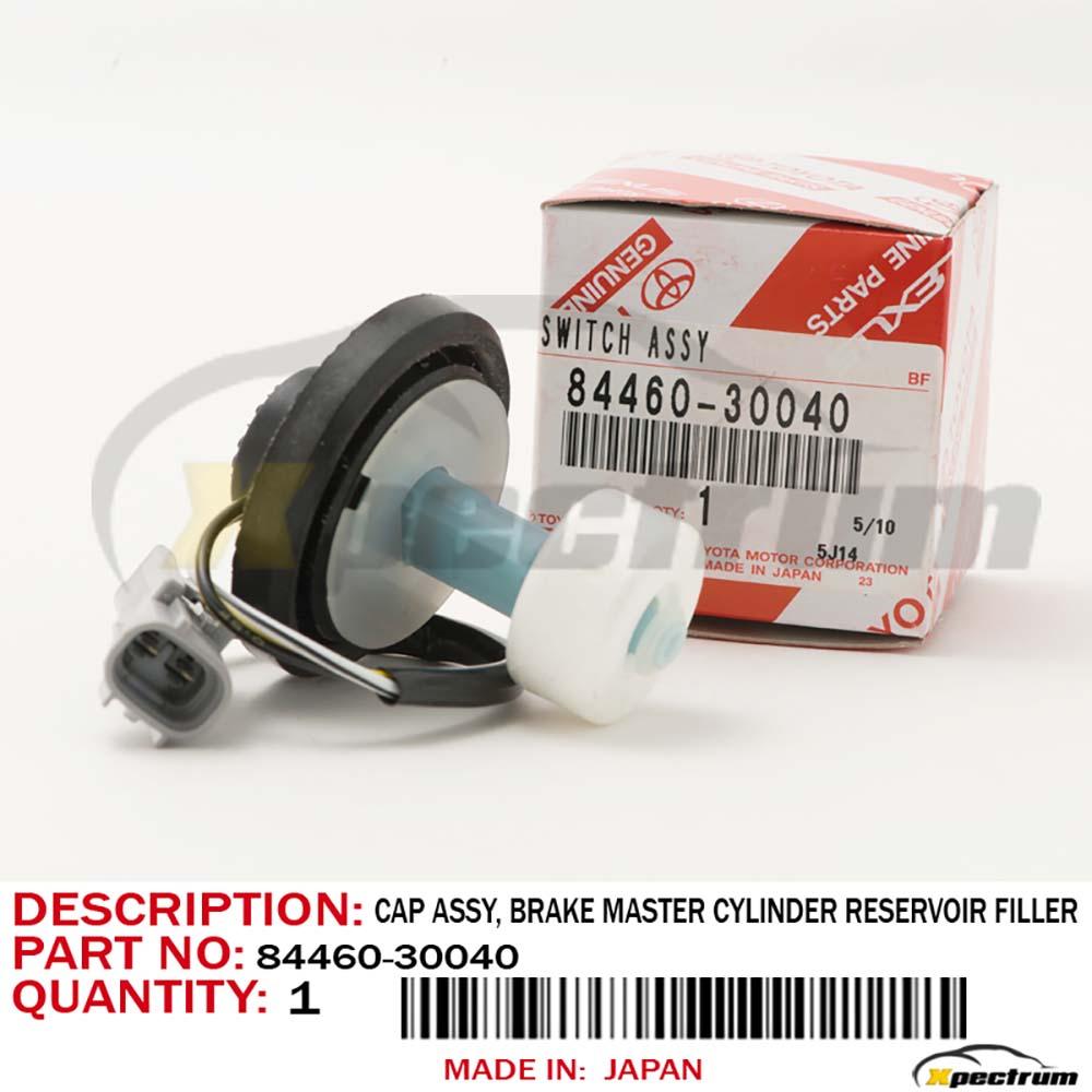 hight resolution of details about genuine lexus 99 01 rx300 brake master cylinder reservoir filler cap 84460 30040