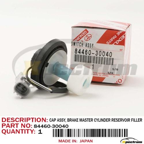 small resolution of details about genuine lexus 99 01 rx300 brake master cylinder reservoir filler cap 84460 30040