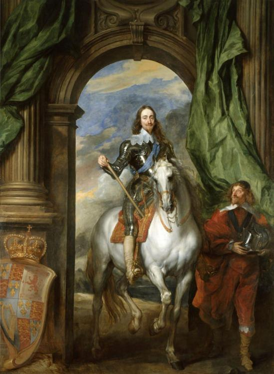 Charles I with M de St Antoine (1633) by Anthony van Dyck