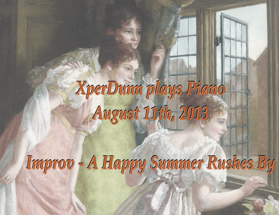 A Happy Summer Rushes By
