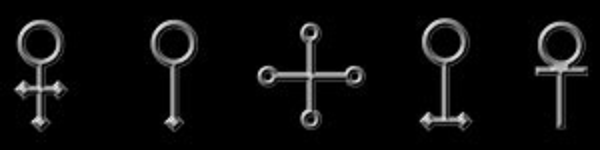 Alchemical symbols for Copper