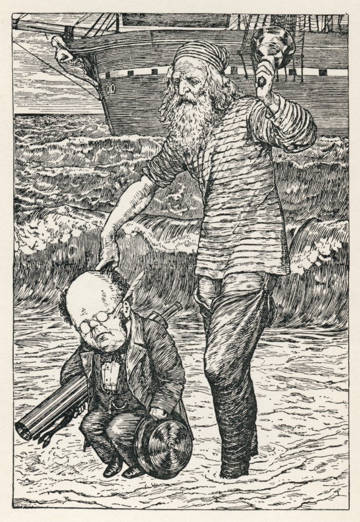 lewis_carroll_-_henry_holiday_-_hunting_of_the_snark_-_plate_1