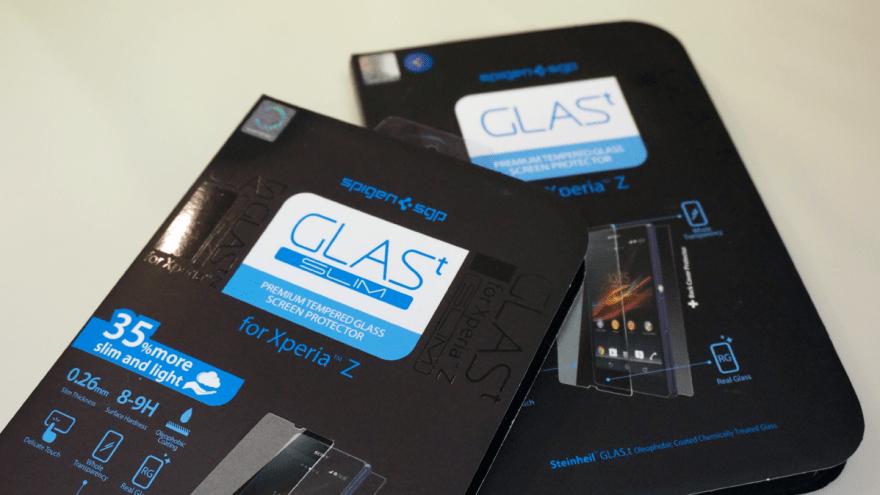 【Z】新型GLAS.t SLIM(強化ガラス液晶保護フィルム) 装着レビュー