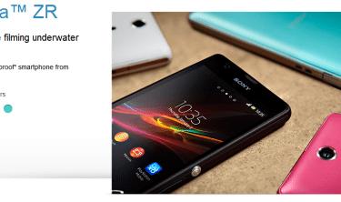 【ZR】Xperia Aの国際版Xperia ZR 1stインプレッション