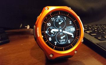 【コラム】CASIOのSmart Outdoor Watch WSD-F10 はゴツくて気に入った!(1stレビュー)