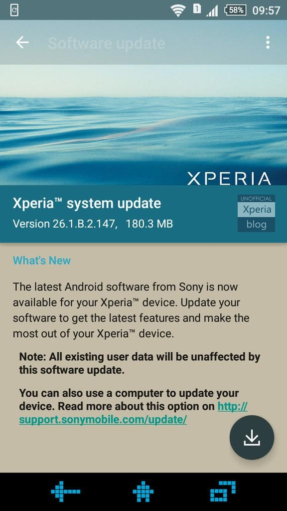 Cara Flash Sony M4 Aqua : flash, Firmware, Rolling, Xperia, (26.1.A.2.167), (26.1.B.2.147)