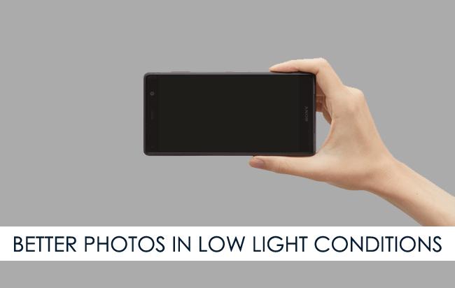 Better Photos Low Light
