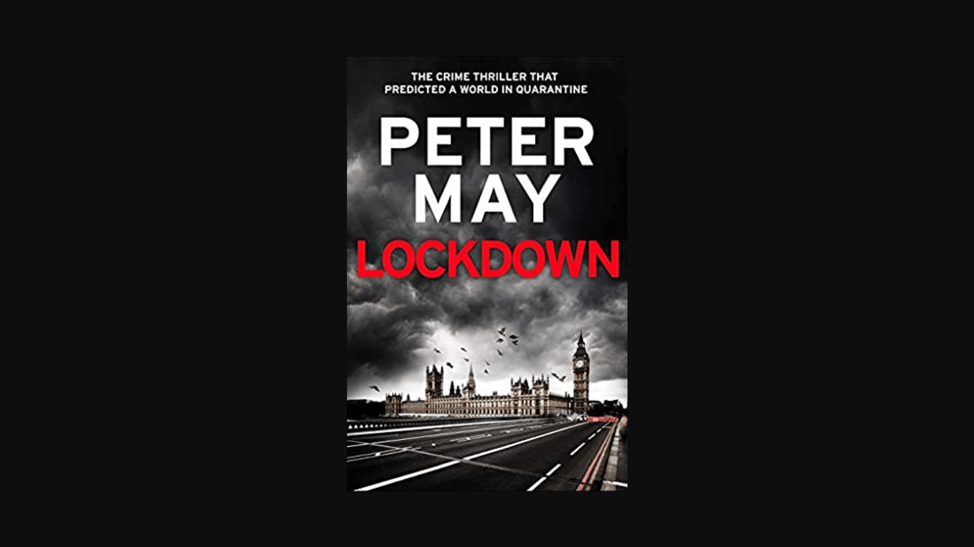 Peter May Lockdown Novel Cover