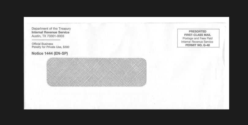notice 1444 EN SP envelope image