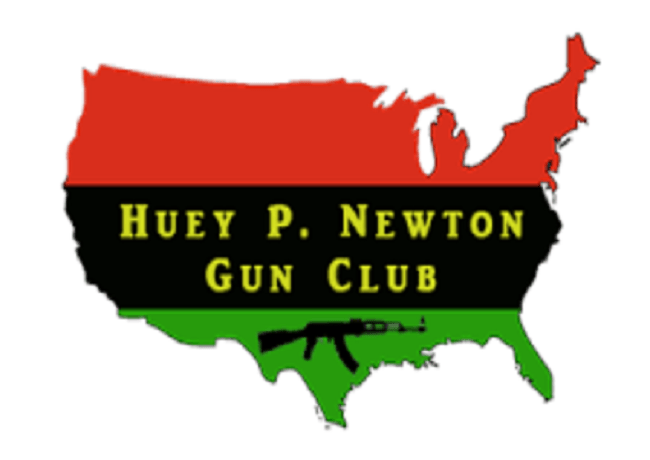 Image of What is Huey P. Newton Gun Club 4th of July
