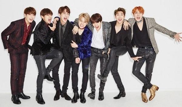 Bild von BTS-Mitgliedern