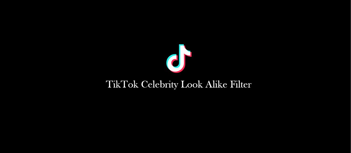 TikTok Celebrity Look Alike Filter