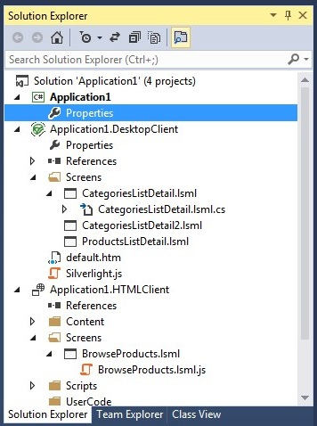 First look at LightSwitch V4 in VS2013 Preview (4/6)