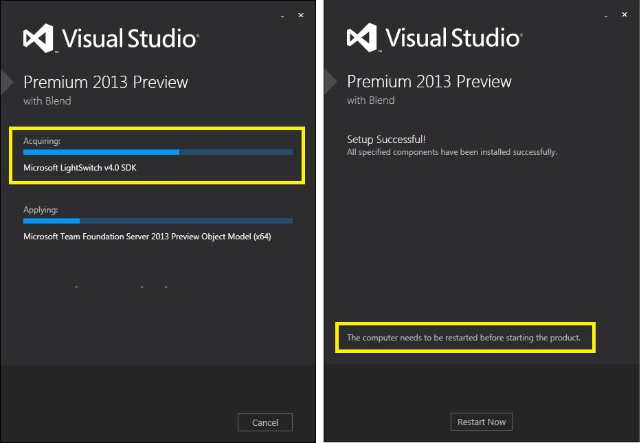 First look at LightSwitch V4 in VS2013 Preview (1/6)