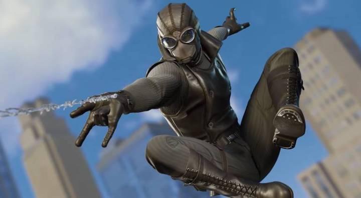 Spider-Man: Veja todos os trajes do jogo do Homem-Aranha - Traje Noir