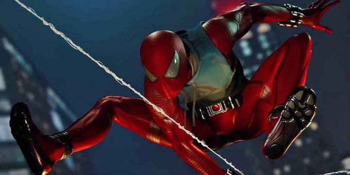 Spider-Man: Veja todos os trajes do jogo do Homem-Aranha - Traje Scarlet Spider