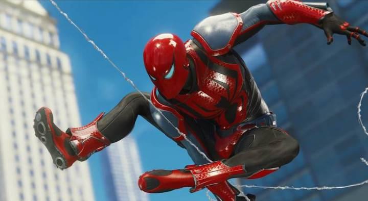Spider-Man: Veja todos os trajes do jogo do Homem-Aranha - Traje Spider Armor MK 3