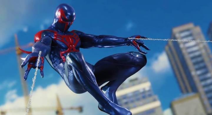 Spider-Man: Veja todos os trajes do jogo do Homem-Aranha - Traje Preto Spider-Man 2099