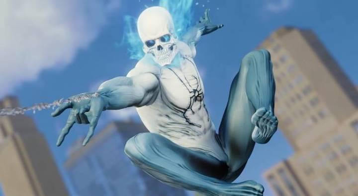 Spider-Man: Veja todos os trajes do jogo do Homem-Aranha - Traje Spider Fantasma