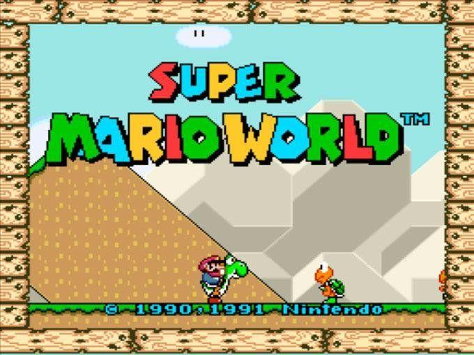 Top 5: Você sabe quais são os jogos mais populares da história, veja aqui! - Super Mario World