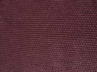 Sofa aus robustem Textil, Aubergine-farben, sehr bequem in ...