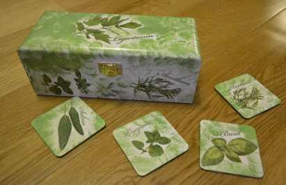 Herbaciarka i podstawki