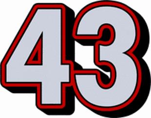 Osiemnaście ciekawostek o liczbie 43