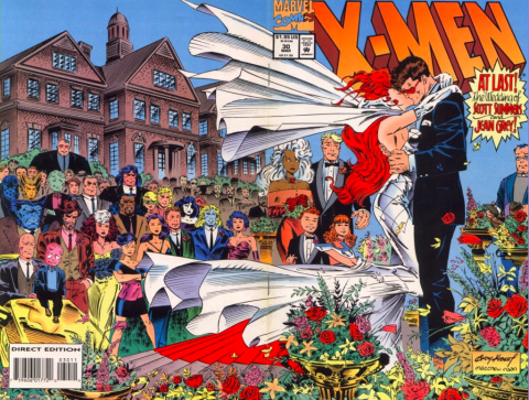 X-Men #30 cover art by Andy Kubert