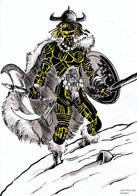 Warlock The Barbarian