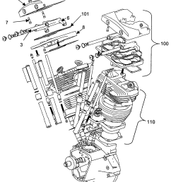 harley davidson engine exploded view [ 1710 x 1993 Pixel ]