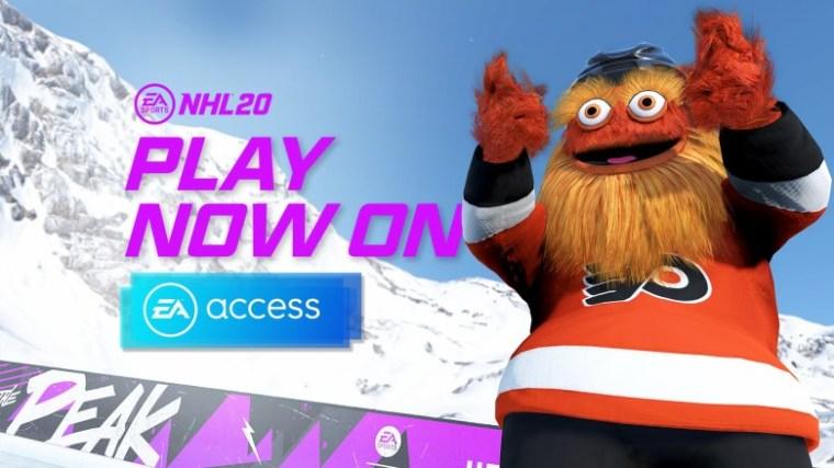 NHL 20 - Gritty