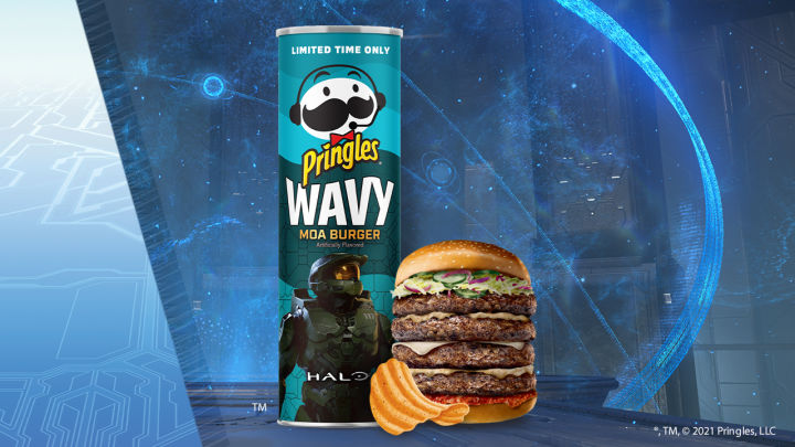 Pringles' Newest Flavour Tastes Like an Extinct Animal… From Halo: Reach
