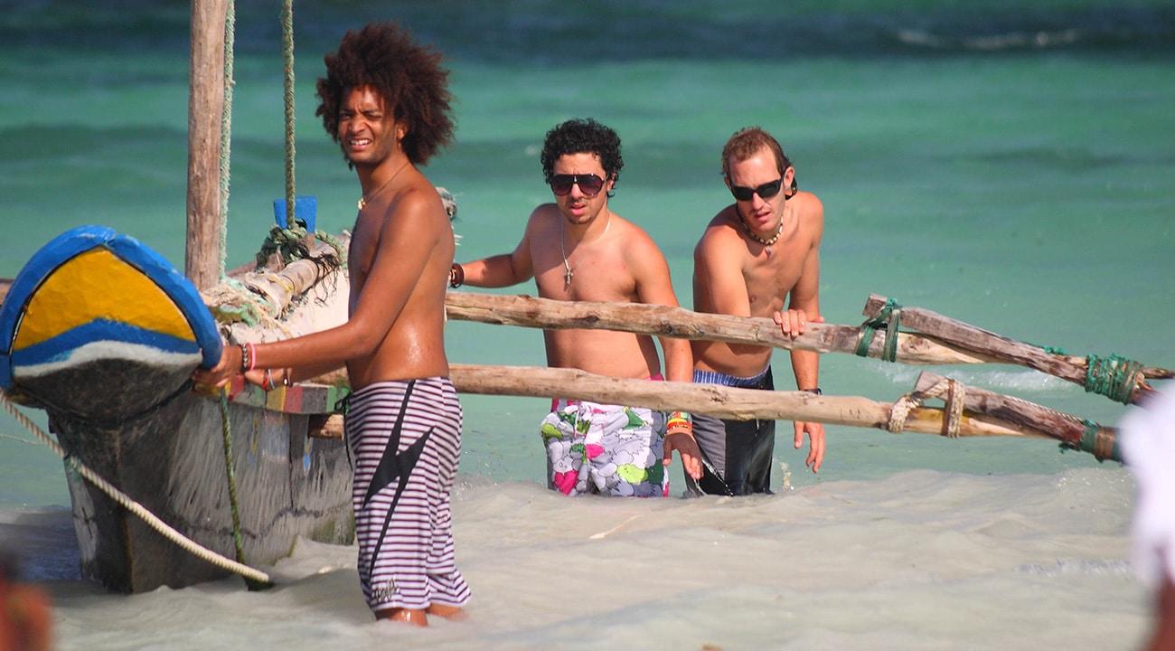 Beach Safari In Africa