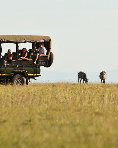 Family Moments On African Safari